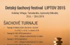 Detský šachový festival LIPTOV 2015 - plagát